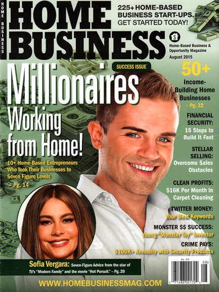 Home Business Magazine Cover - 8/1/2015