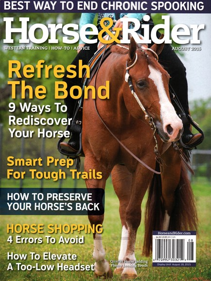 Horse & Rider Cover - 8/1/2015
