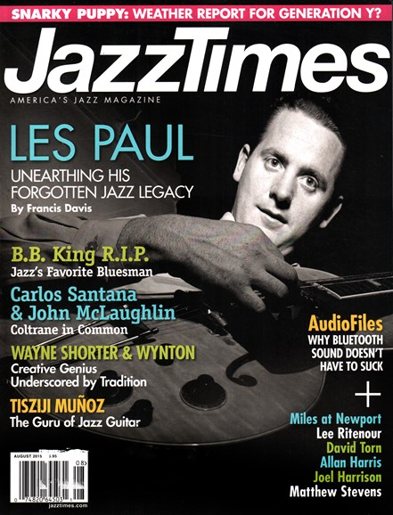 JazzTimes Cover - 8/1/2015
