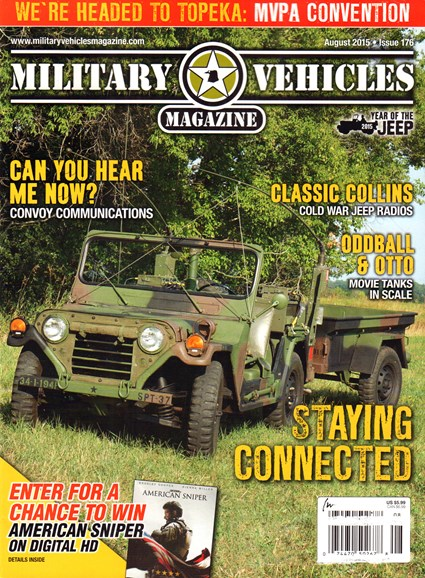 Military Vehicles Cover - 8/1/2015