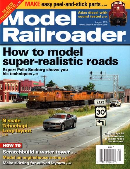 Model Railroader Cover - 8/1/2015