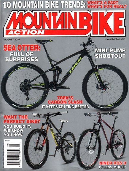 Mountain Bike Action Cover - 8/1/2015