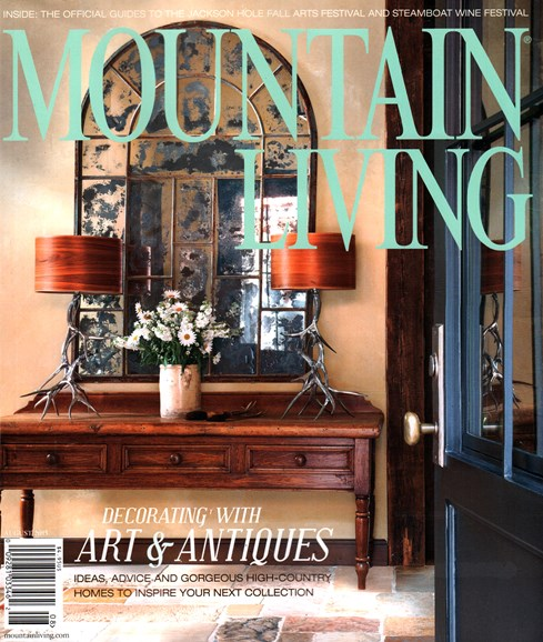 Mountain Living Cover - 8/1/2015