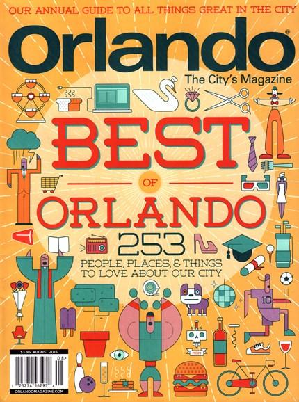 Orlando Magazine Cover - 8/1/2015