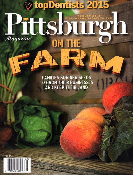 Pittsburgh Magazine Cover - 8/1/2015