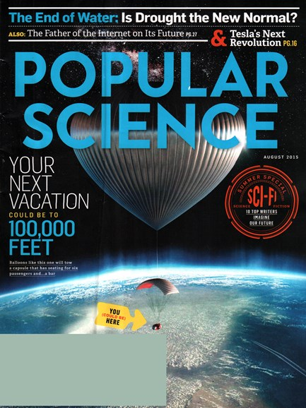 Popular Science Cover - 8/1/2015