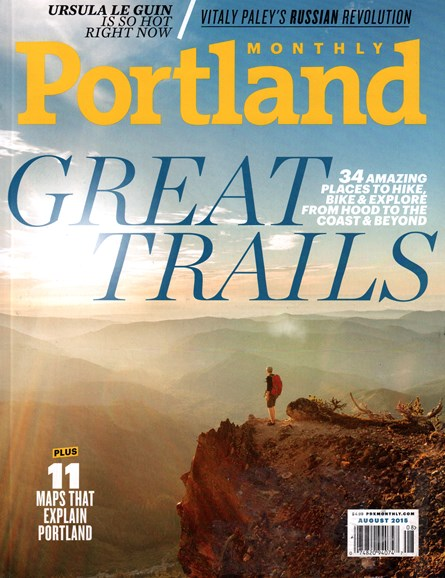 Portland Monthly Cover - 8/1/2015