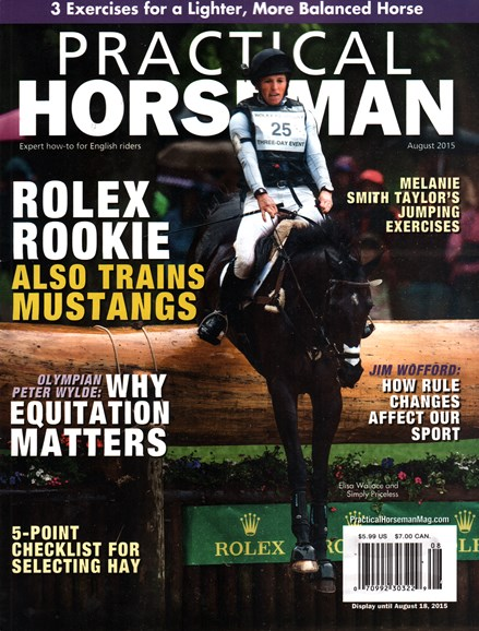 Practical Horseman Cover - 8/1/2015