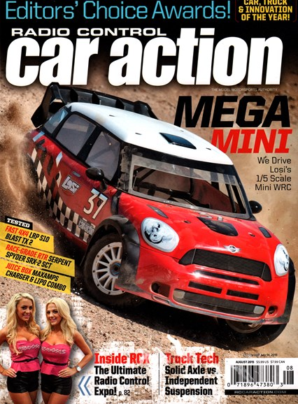 Radio Control Car Action Cover - 8/1/2015