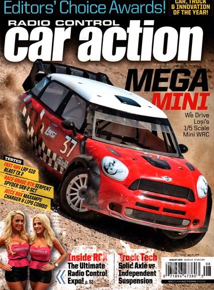 Radio Control Car Action Cover - 8/1/2015