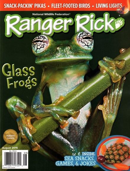 Ranger Rick Cover - 8/1/2015