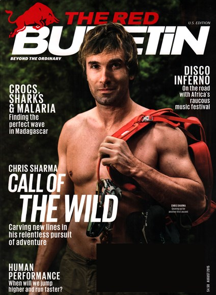 The Red Bulletin Cover - 8/1/2015