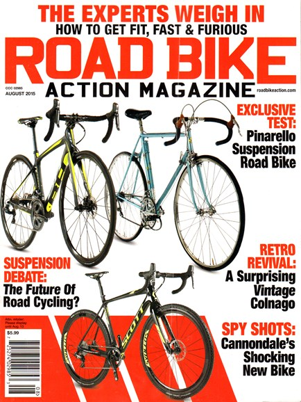 Road Bike Action Cover - 8/1/2015