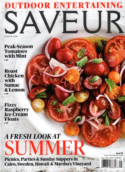 Saveur Cover - 8/1/2015