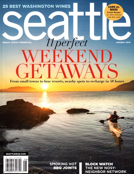 Seattle Magazine Cover - 8/1/2015