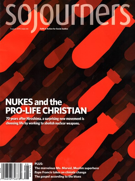 Sojourners Cover - 8/1/2015