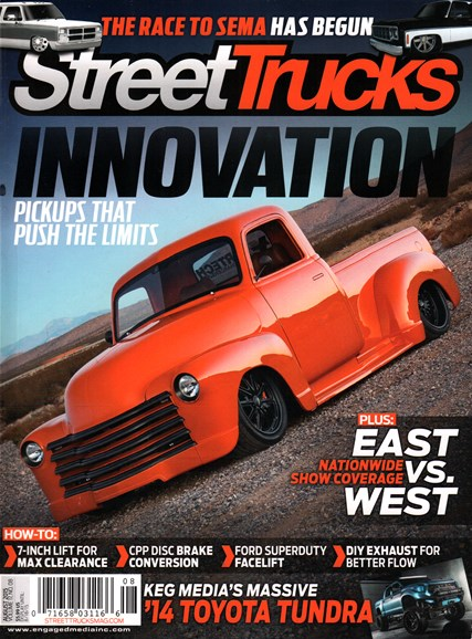 Street Trucks Cover - 8/1/2015