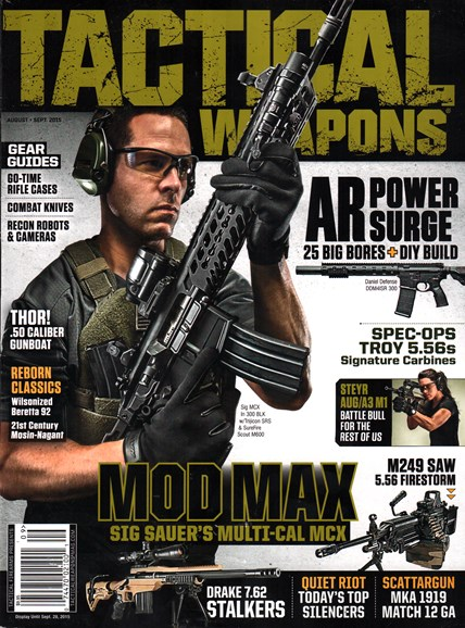 Tactical Life Cover - 8/1/2015