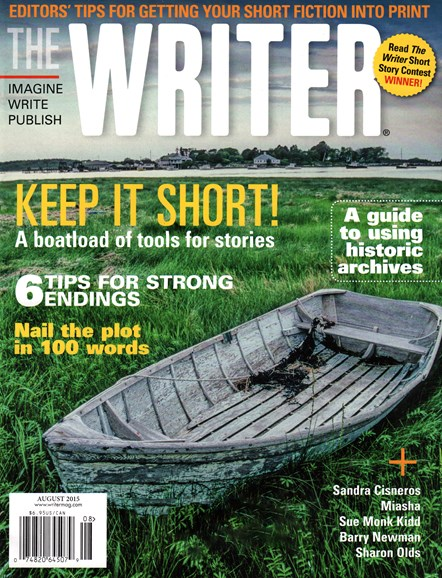 The Writer Cover - 8/1/2015