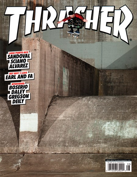 Thrasher Cover - 8/1/2015