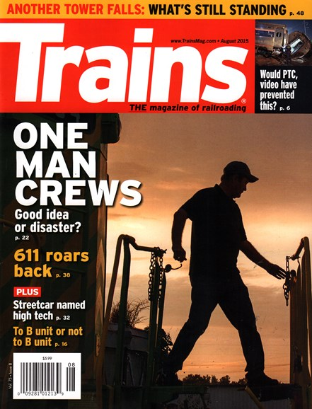 Trains Cover - 8/1/2015
