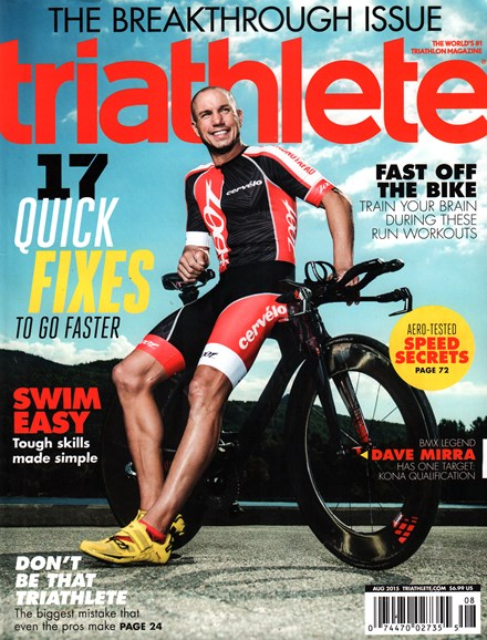 Triathlete Cover - 8/1/2015