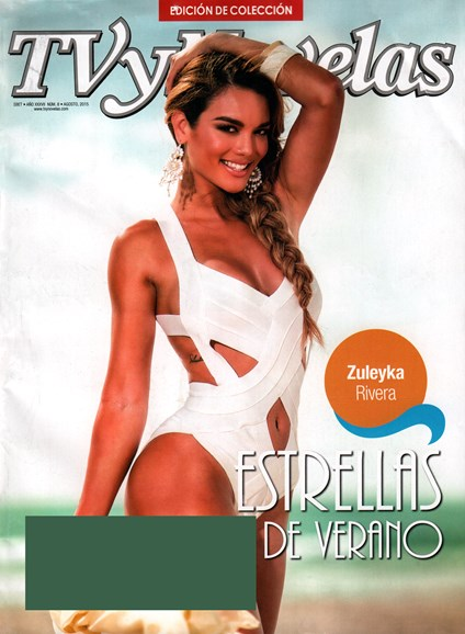 Tv Y Novelas Cover - 8/1/2015