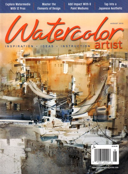 Watercolor Artist Cover - 8/1/2015