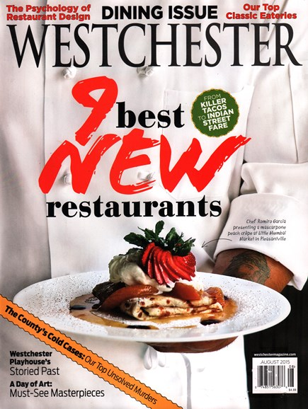 Westchester Magazine Cover - 8/1/2015