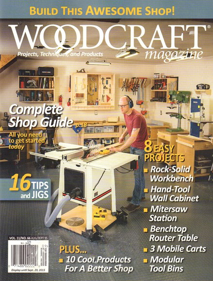 Woodcraft Cover - 8/1/2015