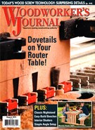 Woodworker's Journal Magazine 8/1/2015
