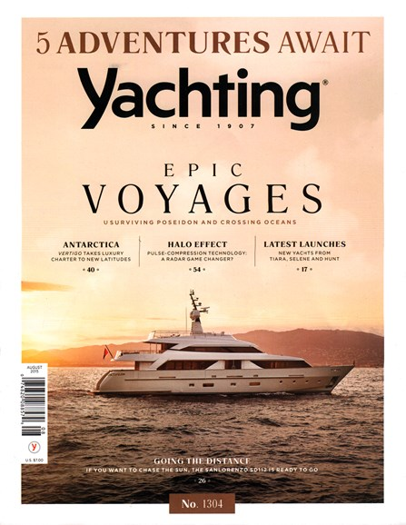 Yachting Cover - 8/1/2015