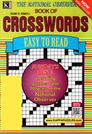 The National Observer Book of Crosswords Magazine 7/1/2015