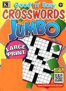 Good N Easy Crosswords Jumbo Magazine 10/5/2015