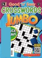 Good N Easy Crosswords Jumbo Magazine 9/7/2015