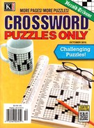 Herald Tribune Crossword Puzzles Magazine 10/1/2015