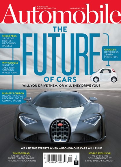 Automobile Cover - 8/1/2015