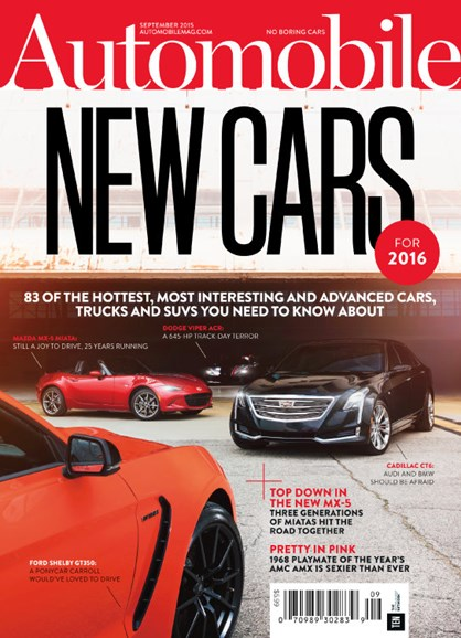 Automobile Cover - 9/1/2015