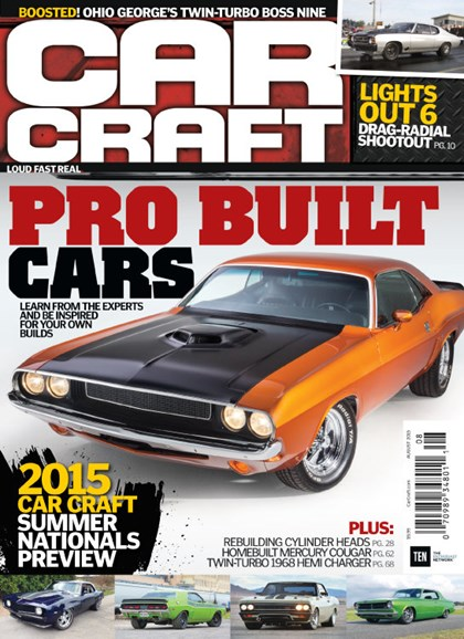 Car Craft Cover - 8/1/2015