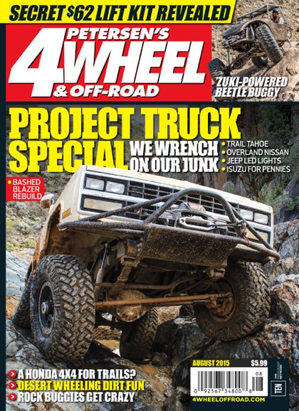4 Wheel & Off-Road Cover - 8/1/2015