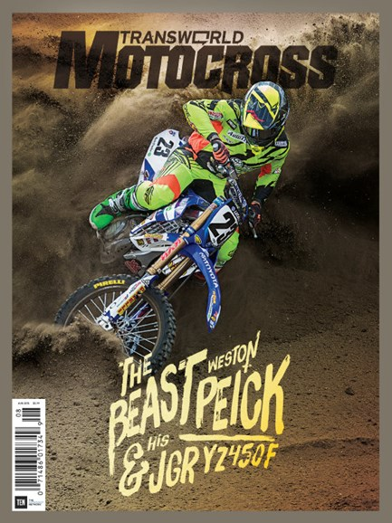 Transworld Motocross Cover - 8/1/2015