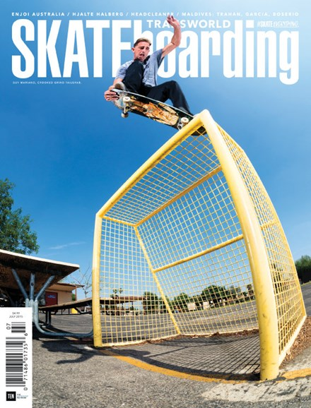 Transworld SKATEboarding Cover - 7/1/2015