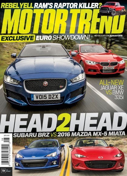 Motor Trend Cover - 8/1/2015