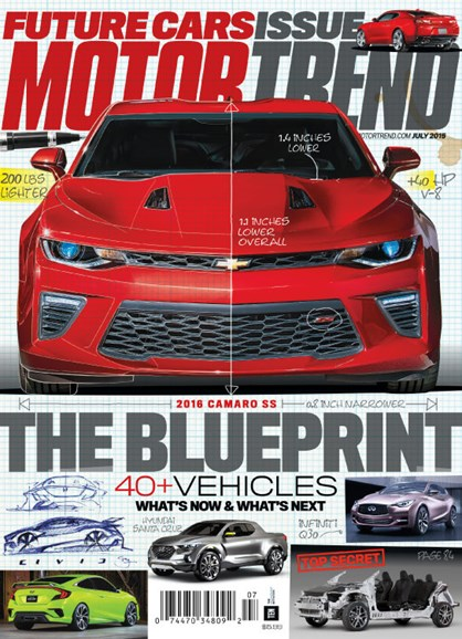 Motor Trend Cover - 7/1/2015