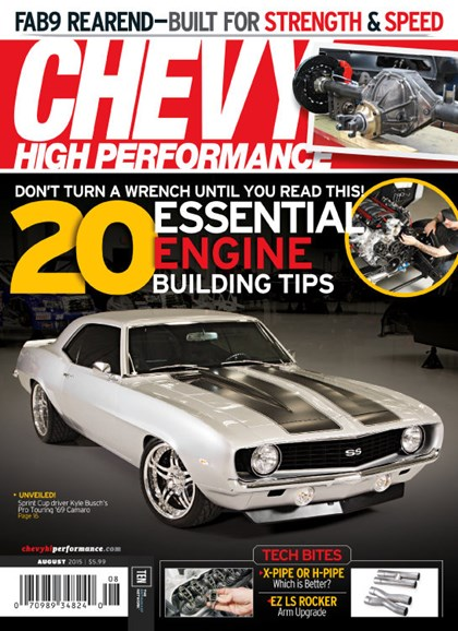 Chevy High Performance Cover - 8/1/2015