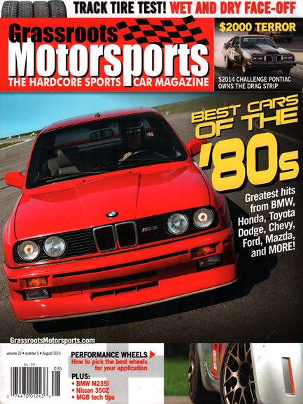 Grassroots Motorsports Cover - 8/1/2015