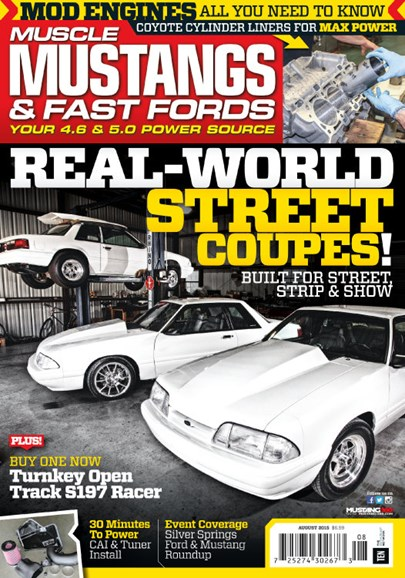 Muscle Mustangs & Fast Fords Cover - 8/1/2015