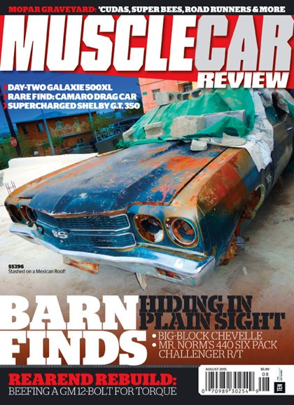 Muscle Car Review Cover - 8/1/2015