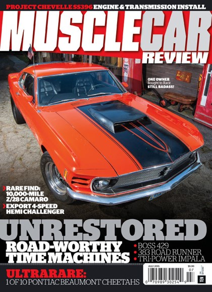 Muscle Car Review Cover - 7/1/2015
