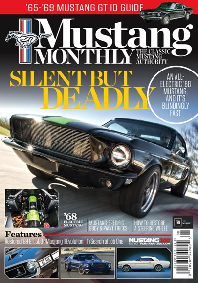 Mustang Monthly Cover - 8/1/2015